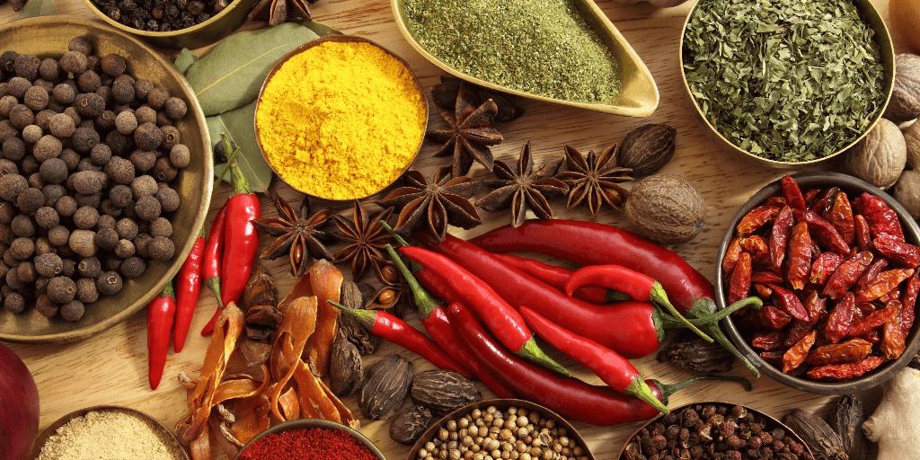 Μπαχαρικά και βότανα από όλο τον κόσμο